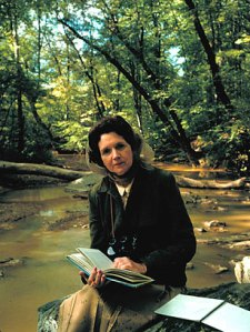 Rachel Carson, marine biologist, author of The Edge of the Sea, Under the Sea Wind, and Silent Spring. Alfred Eisenstaedt photo, Time Life Picture